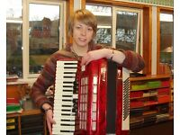 Tuition offered in Piano Accordion/Guitar/Ukulele to all ages & abilities