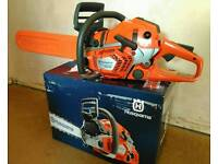 "Husqvarna 550XP 18"" Petrol Chainsaw *Brand New & Boxed*"