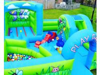 Bouncy castle/ Candy floss & Popcorn machine hire/ Chocolate fountain/ Face painting/ Soft Play