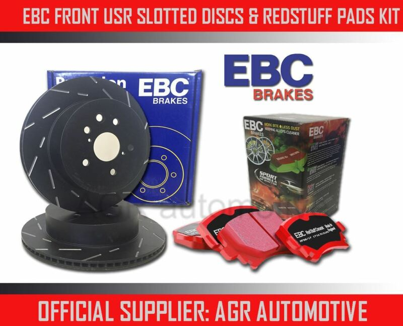 EBC FRONT USR DISCS REDSTUFF PADS 296mm FOR LEXUS IS220D 2.2 TD 2005-11