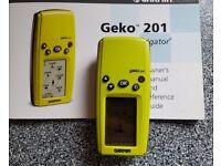 Garmin Geko 201 GPS Receiver Personal Navigator Waterproof Geocaching Sat Nav