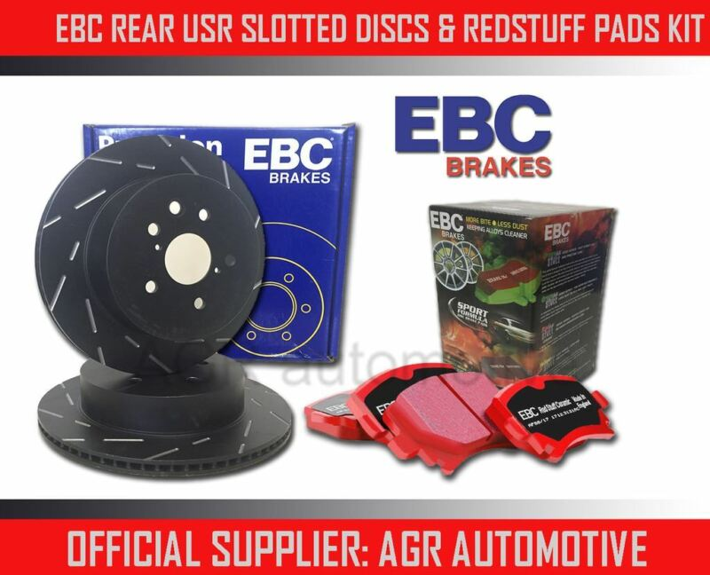 EBC REAR USR DISCS REDSTUFF PADS 291mm FOR LEXUS IS250 2.5 2005-13