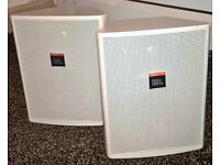 JBL Control 25T pair of speakers, excellent condition, can be used outdoors as splash proof