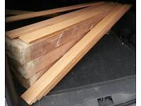 Harwood Flooring, TOP OF THE RANGE PERUVIAN TEAK, Heavy Duty Unfinished Solid Plank, 400sqm, must go