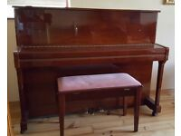 Upright Piano Reid-Sohn RS-115 for sale. Excellent condition, rarely used. Piano stool included.