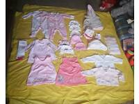 Baby girl clothes bundle - 30 ITEMS