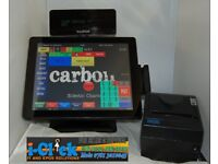 VariPos 715 Touch Screen Epos System Dual Core Bezel Free Poindus Till ICRTouch ICR Thermal Printer