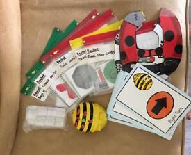 Bee bot and accessories - early years programming