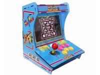 Ms Pac Man Classic Arcade Machine Bartop Cabinet - 999 in 1 Pandora 5S - NEW