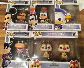 Kingdom Hearts Funko Pops Set £70 with p&p included