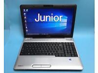 Toshiba Fast HD Laptop, 4GB 320GB, Genuine Win 10, HDMI, Microsoft office,Excellent Condition
