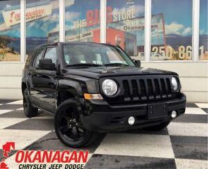 2015 Jeep Patriot SPORT 4X4 | One Owner | 17'' Black Alloys | Fo