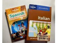 Italian & Spanish phrasebook