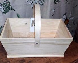 New Wooden Trug