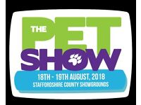 2 pet show tickets this sat