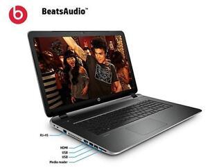 HP pavilion 17.3  ''BEATSAUDIO A10 TURBO 2.8GHZ 12 GB 1TB RADEON HD 7620G 3GB