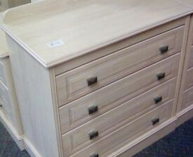 Light-wood chest of drawers #33788 £35