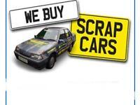 WE BUY SCRAP CARS NON RUNNERS £50-£1000 CASH