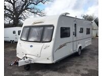 2006 Bailey Senator Indiana 4 berth, fixed bed Caravan