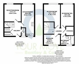 New property 4 bedroom open plan lounge and kitchen. available now furnished