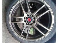 4 Samurai Lenso Alloys with tryes