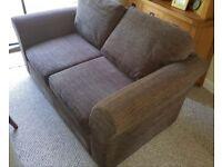 Brown large NEXT Garda sofa
