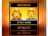 Indian Massage by Male Therapist