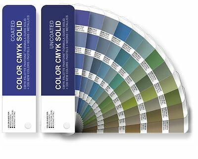 Set Color Cmyk Solid - Color Guide Pantone For Digital Print - Coateduncoated