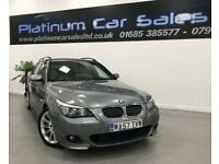 BMW 5 SERIES 530D M SPORT TOURING (grey) 2007