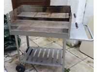 Worth RRP £69 Deluxe Charcoal Rectangle Steel Party BBQ