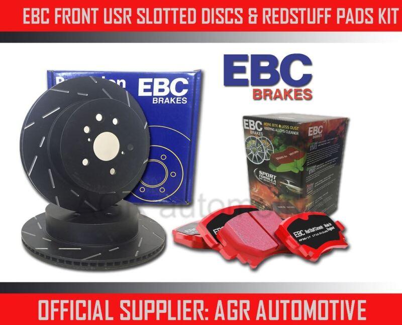 EBC FRONT USR DISCS REDSTUFF PADS 296mm FOR LEXUS IS250 2.5 2013-