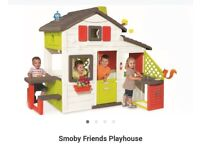 *New* Smoby Friends Playhouse cost £350