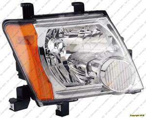 Head Light Passenger Side 05-12 (Exclude S/X-Models) High Quality Nissan XTERRA 2009-2012
