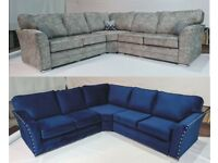LARGE ESSEX LARGE BRAND NEW CORNER/3+2 SEATER SOFA | CASH ON DELIVERY | FINANCE AVAILABLE