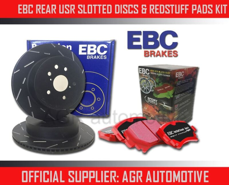 EBC REAR USR DISCS REDSTUFF PADS 307mm FOR LEXUS GS300 3.0 1991-93