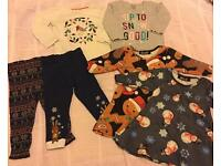 Lovely Baby Girls Christmas Clothes, 12-18 months, incl. Baby Boden and Baby Gap