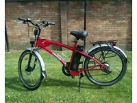 Electric bike freego hawk 36v 250w