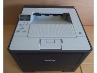 Brother HL-6180DW HL-61 A4 BLACK Wireless Laser Office Business Printer WITH CABLES