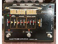 Electro Harmonix Holiest Grail Reverb Pedal RARE. EHX