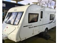 2012 Elddis Avante 574 (Fixed Single Beds, Full End Washroom)