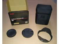 Sigma EX 10-20mm F4-5.6 BOX AND LENS BAG ONLY + Accessories