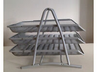 Metal 3 Tier Letter Tray
