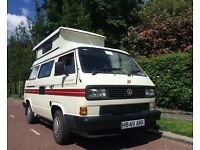 1991 VW T25 AUTOSLEEPER TROOPER 1.6 TURBO DEISEL, NEW ENGINE,TURBO, DISCS AND PADS LEZ ZONE EXEMPT