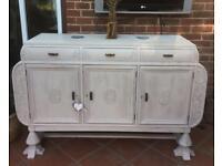 Lovely shabby chic vintage dresser/ sideboard/ cupboard