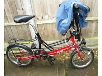 Fold up bike