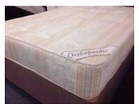 Brand New Orthopeadic Single Double & Kingsize Mattresses