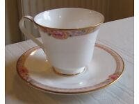 1995 Royal Doulton DARJEELING pattern Cup and Saucer