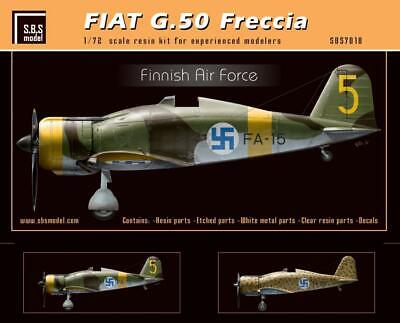 SBS Model 1/72 scale Fiat G.50 Freccia Finnish Air Force full resin kit SBS7018