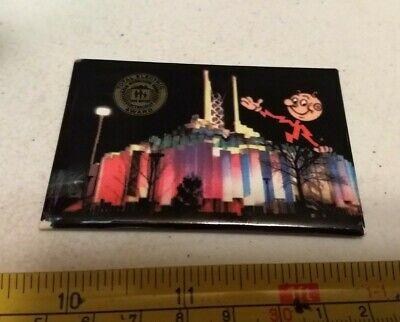Vintage Reddy Kilowatt 1964-65 New York World's Fair Advertising Pocket Mirror