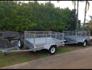 Caged Trailer Rental/ Hire $40 Pacific Pines Gold Coast City Preview